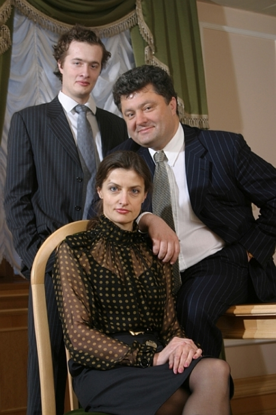 Семья Петра Порошенко