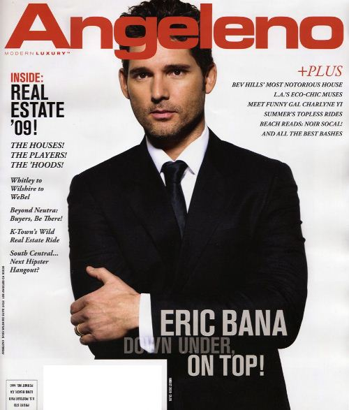 Эрик Бана на обложках журналов