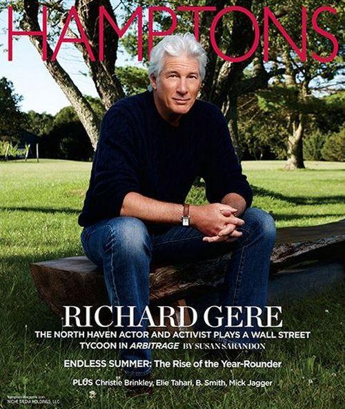 Ричард Гир на обложках журналов