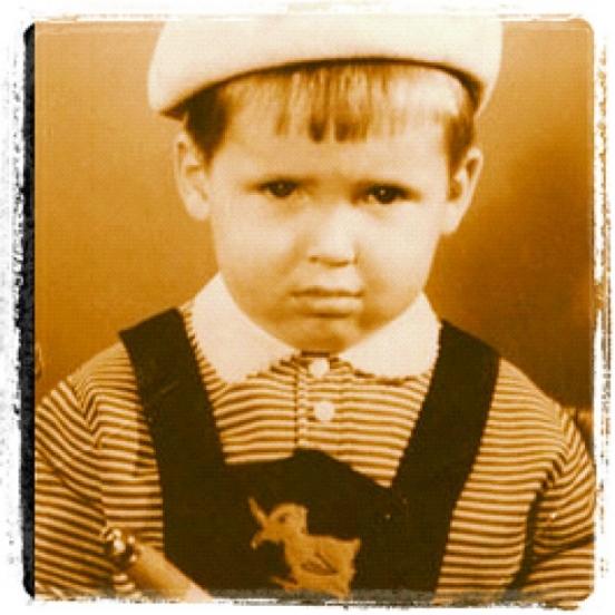 Никита Джигурда в детстве