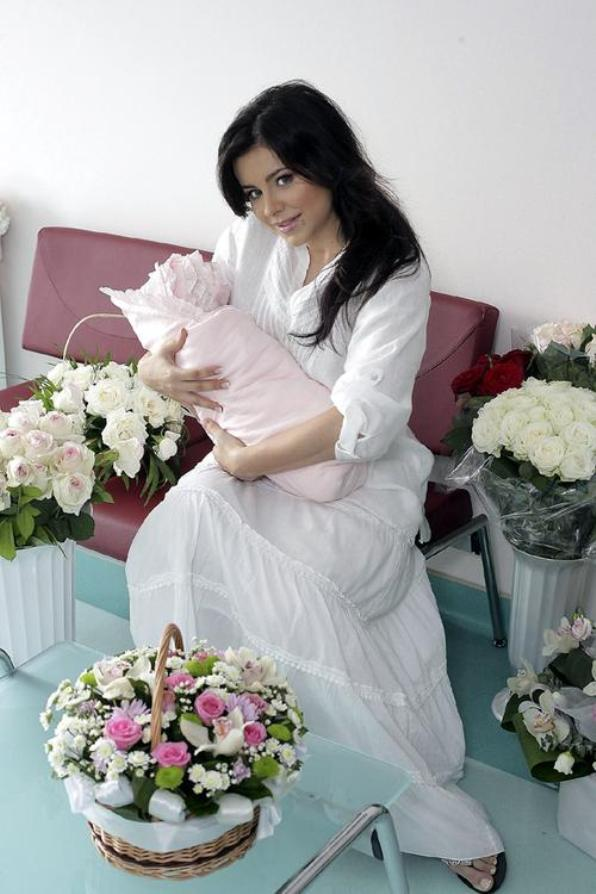 Ани Лорак и ее дочь