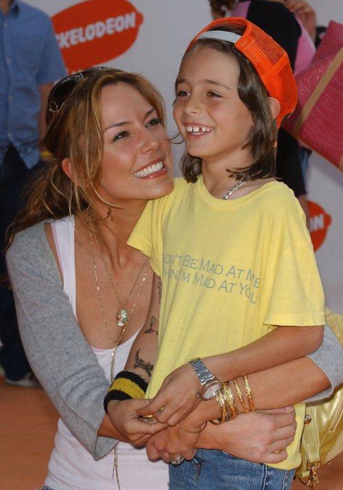 Криста Аллен и ее сын
