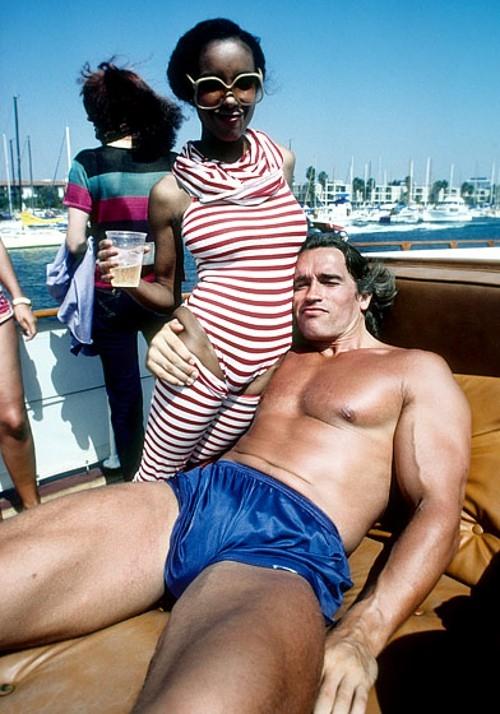 Duly answer Arnold schwarzenegger naked body