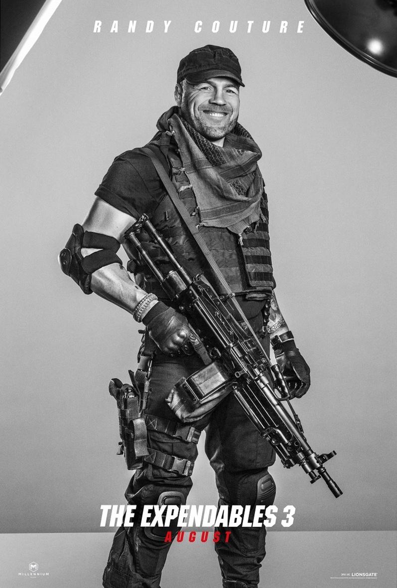 Эксклюзивные характер-постеры фильма «Неудержимые 3»