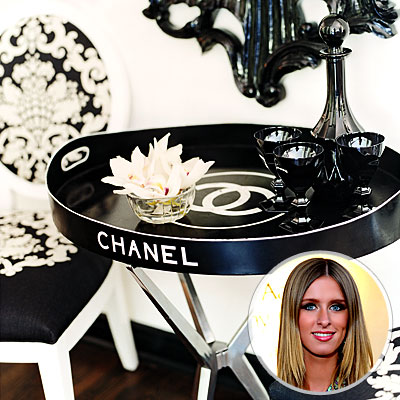 Поднос Chanel Ники Хилтон