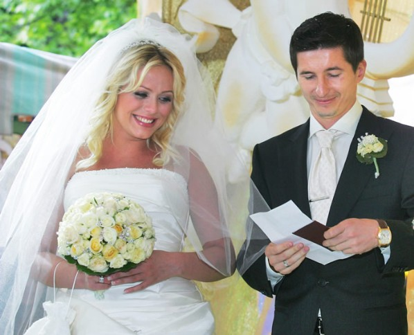 Свадьба: Юлии Началовой и футболиста ЦСКА Евгения Алдонина