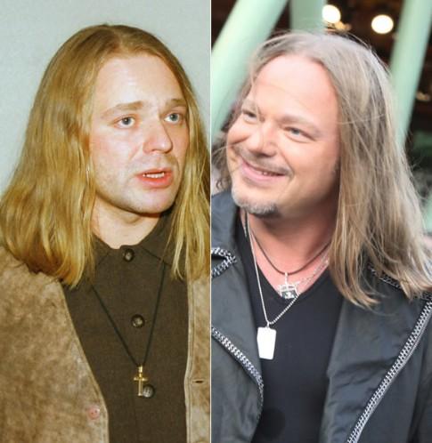 Владимир Пресняков-младший в 1994 году и 2009 году