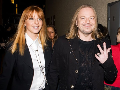 Владимир Пресняков и Наталия Подольская