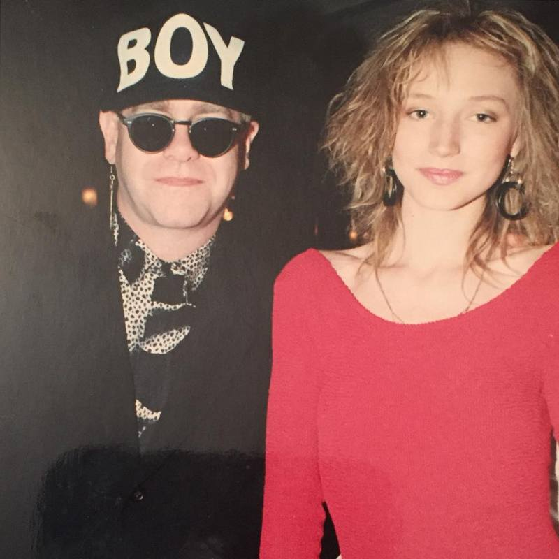 Элтон Джон и Кристина Орбакайте, Лондон, 1990 год