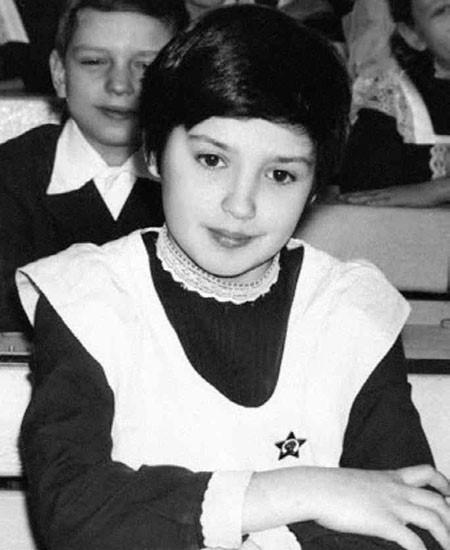 Оксана Марченко в детстве