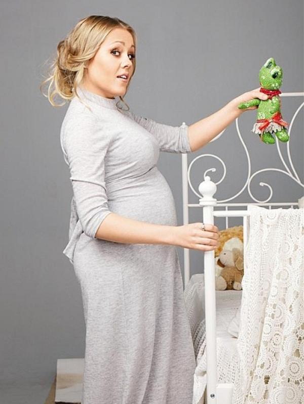 Беременная Алеша для журнала Отдохни!