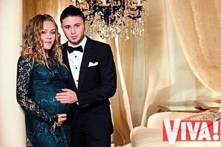 Alyosha и Тарас Тополя в ожидании малыша. Фотосессия для Viva!