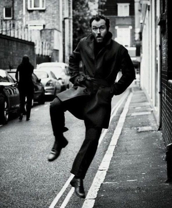 Джуд Лоу для The New York Times Style Magazine