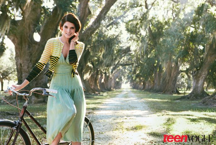 Эшли Грин для Teen Vogue