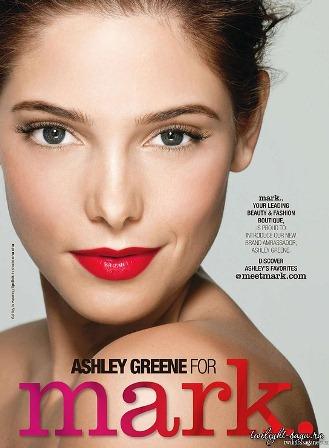 Эшли Грин для Avon