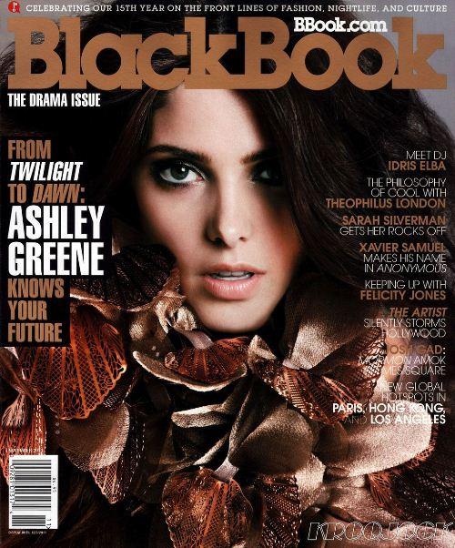 Эшли Грин на обложках журналов