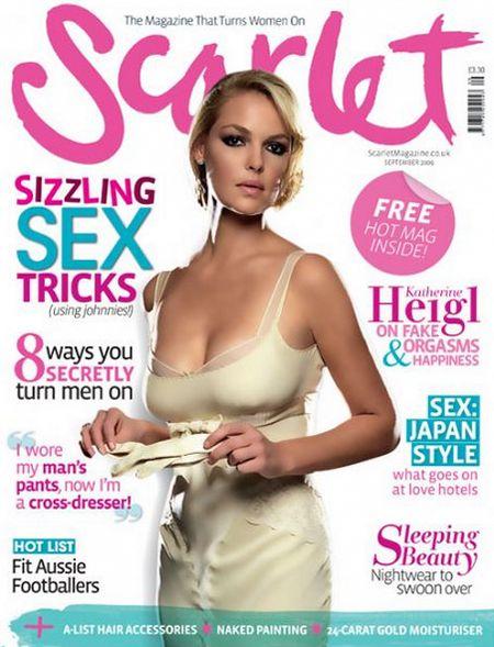 Кэтрин Хейгл на обложках журналов