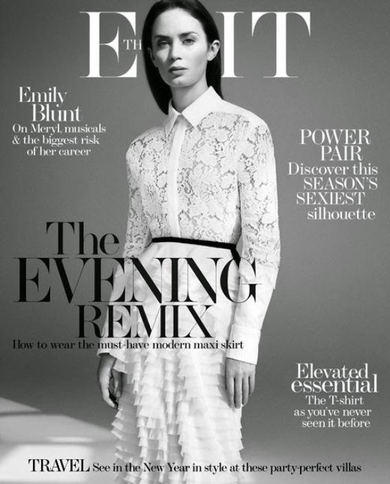 Эмили Блант для The Edit Magazine, декабрь 2014