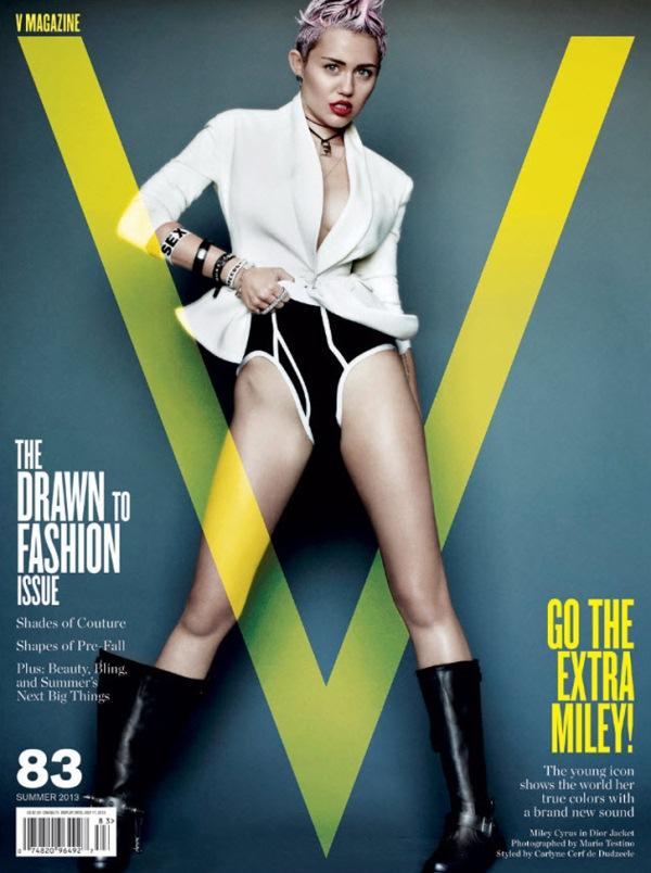 Майли Сайрус для V Magazine