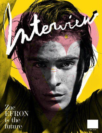 Зак Эфрон на обложках журналов