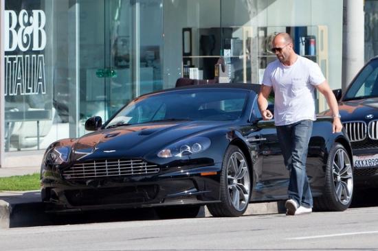 Джейсон Стэтем и его Aston Martin