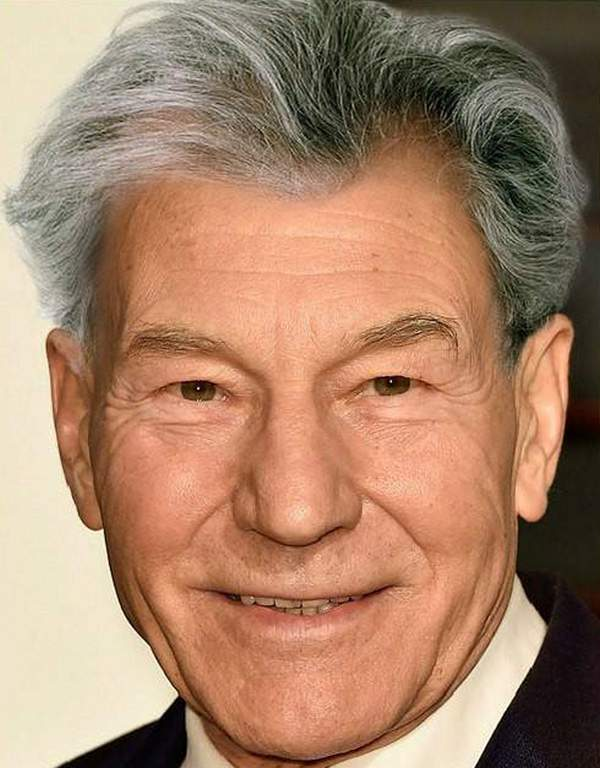 Как бы выглядели лысые знаменитости с волосами?