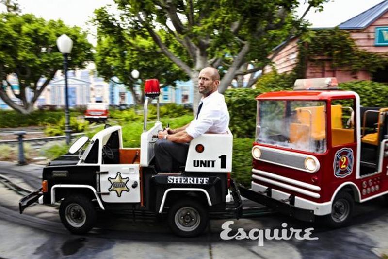 Джейсон Стэтхэм для Esquire, июнь/июль 2015