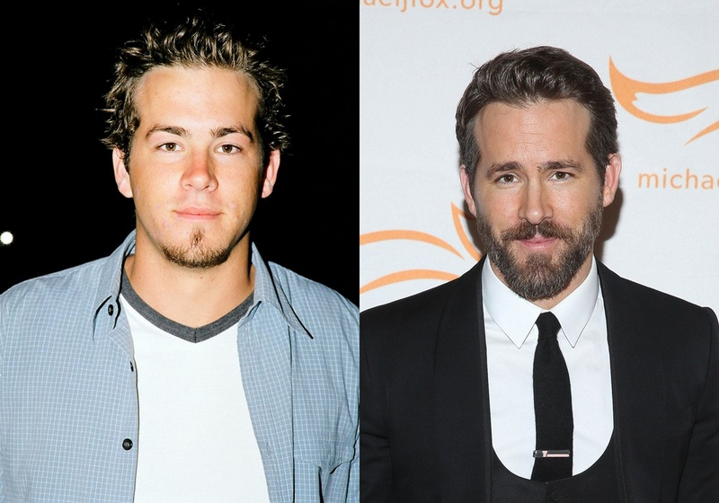 Популярные голливудские актеры в середине 90-х и сейчас