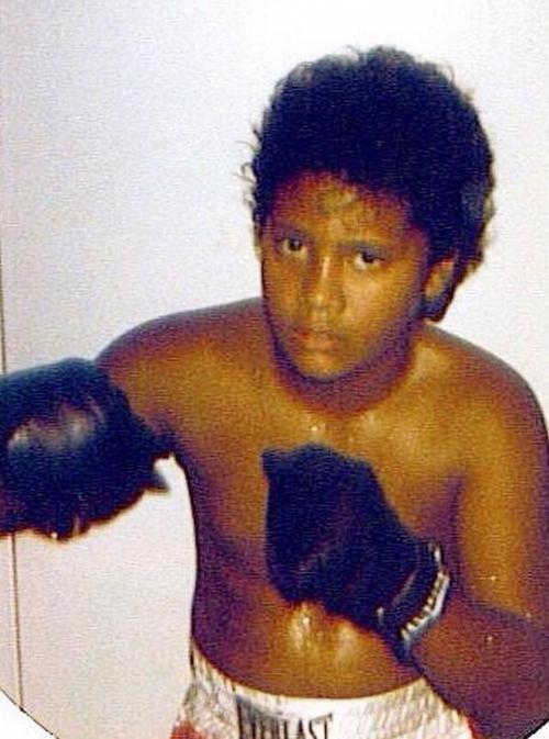 Дуэйн Джонсон в детстве и молодости
