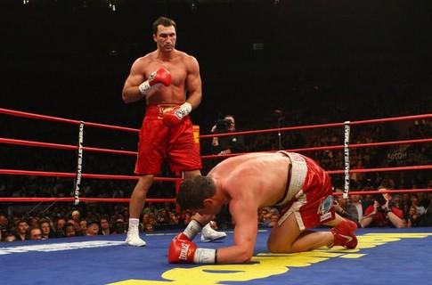 Владимир Кличко на ринге