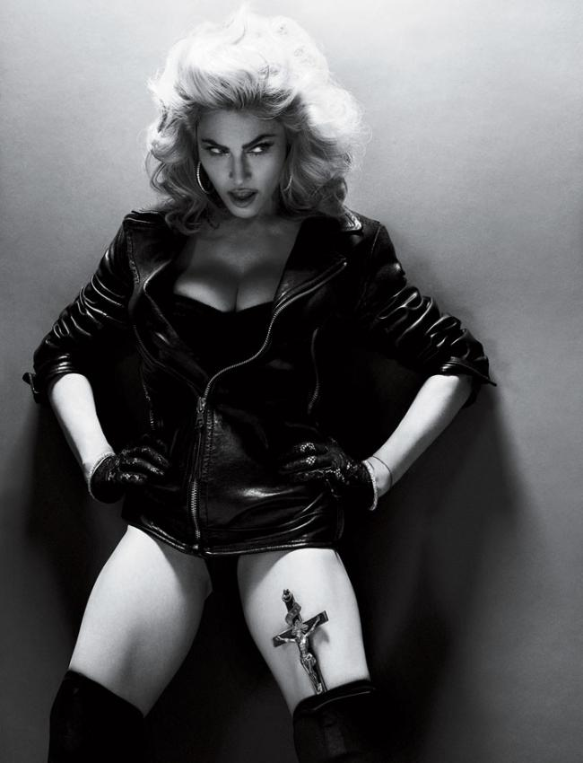 Мадонна для журнала Interview