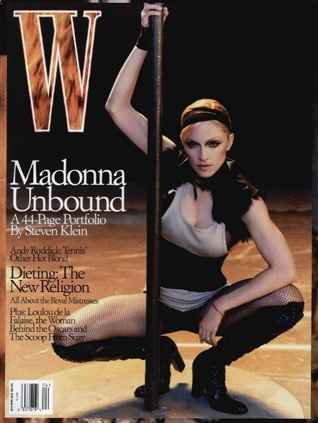 Мадонна на обложках журналов