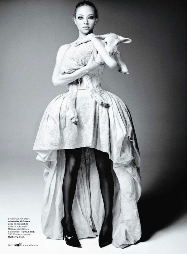 Аманда Сейфрид для Elle US