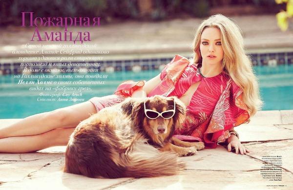 Аманда Сейфрид для Tatler Russia