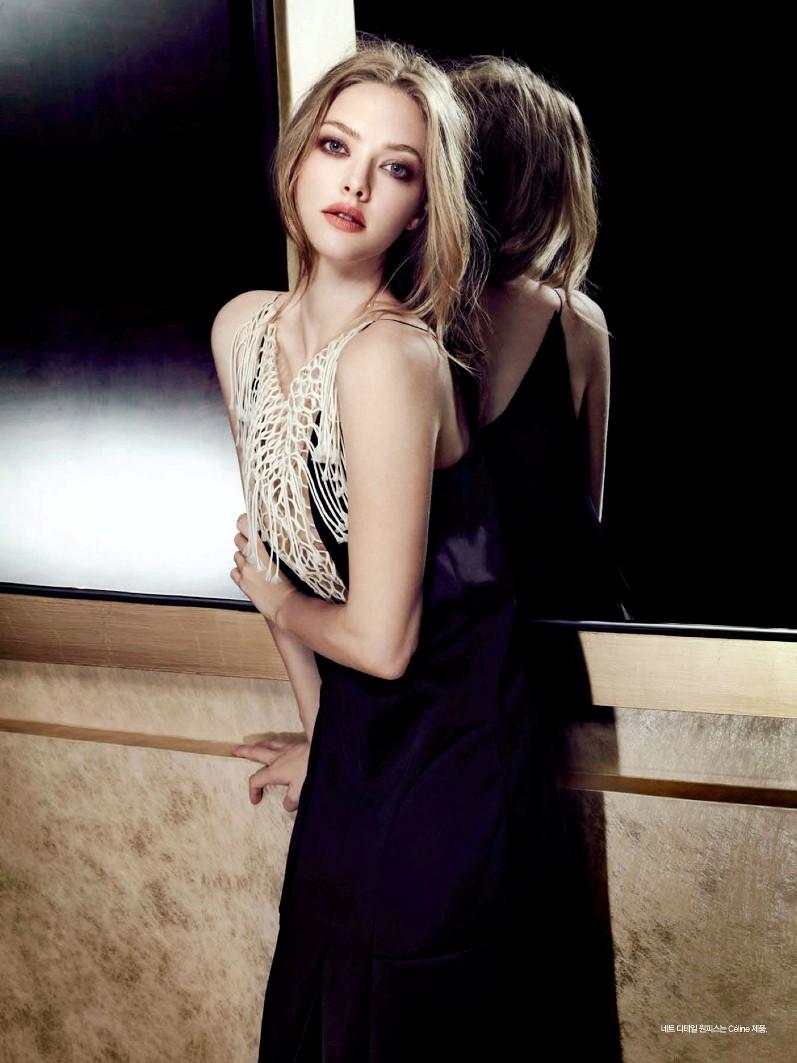 Аманда Сейфрид для июльского номера Harper's Bazaar KR