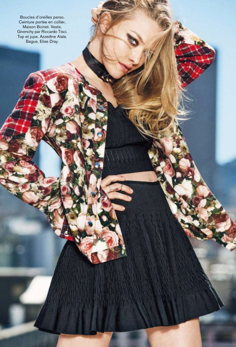 Аманда Сейфрид для журнала Glamour France, сентябрь 2013