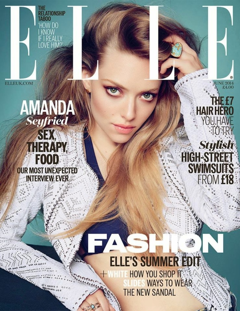 Аманда Сейфрид в фотосессии Кая Зи Фенга для Elle Magazine UK, июнь 2014