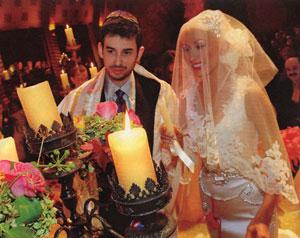 Свадьба: Кристины Агилеры и Джордана Братмана