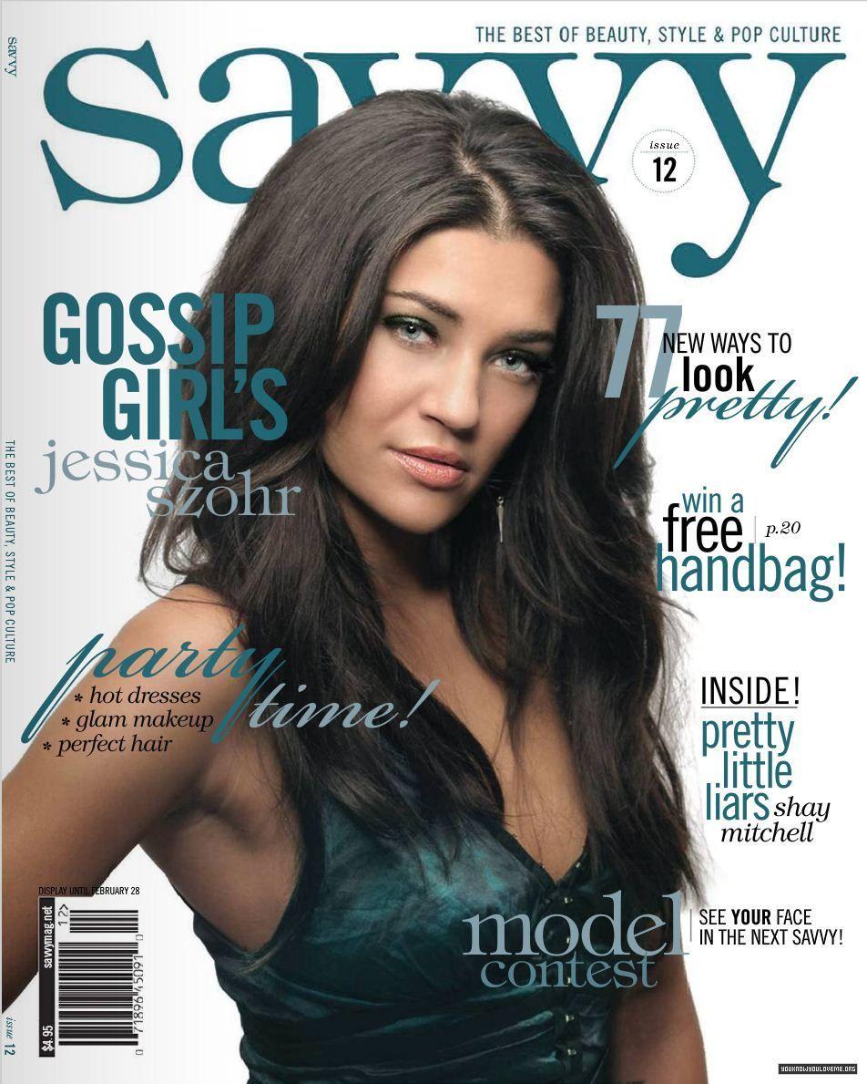 Джессика Зор на обложках журналов