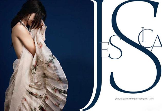 Джессика Зор для журнала ASOS