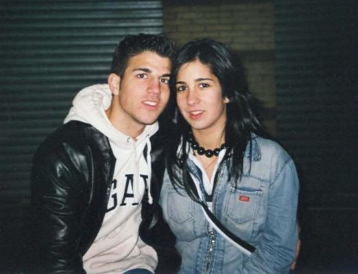 Сеск Фабрегас и Карла Дона