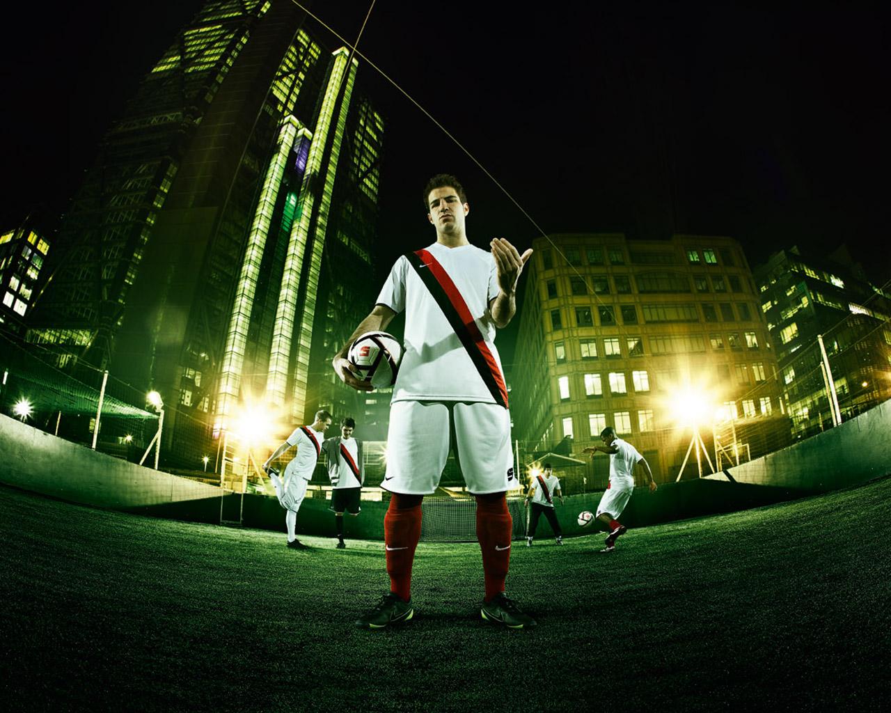 Сеск Фабрегас в рекламе Найк