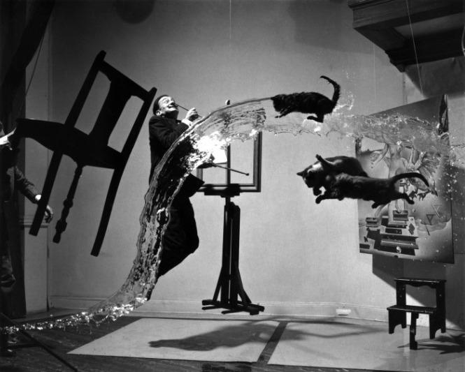 Сюрреализм в фотографии: Филипп Халсман и Сальвадор Дали