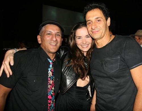 Наталья Орейро с мужем