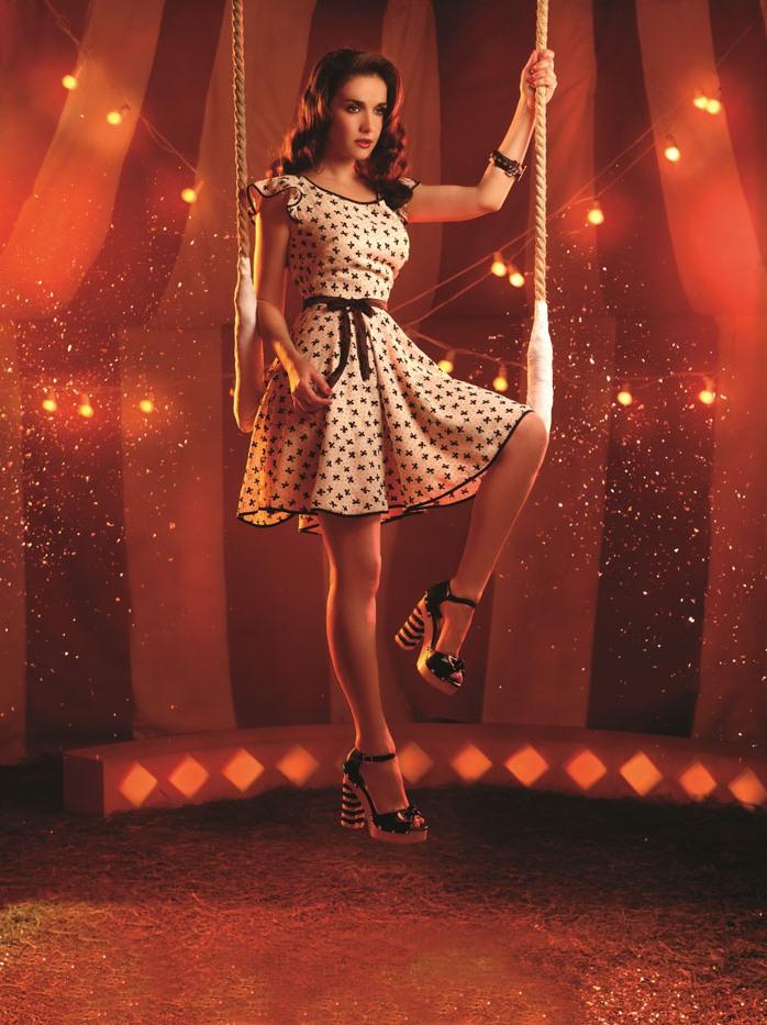 Наталия Орейро в фотосессии для бренда Las Oreiro