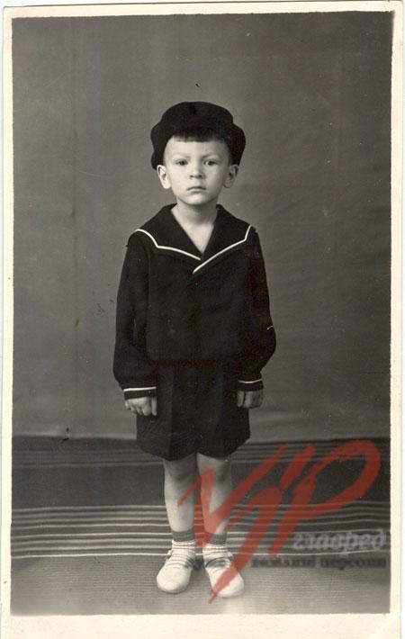 Юрий Луценко в детстве