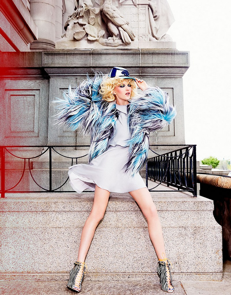 Влада Рослякова для Harper's Bazaar Singapore, октябрь 2014