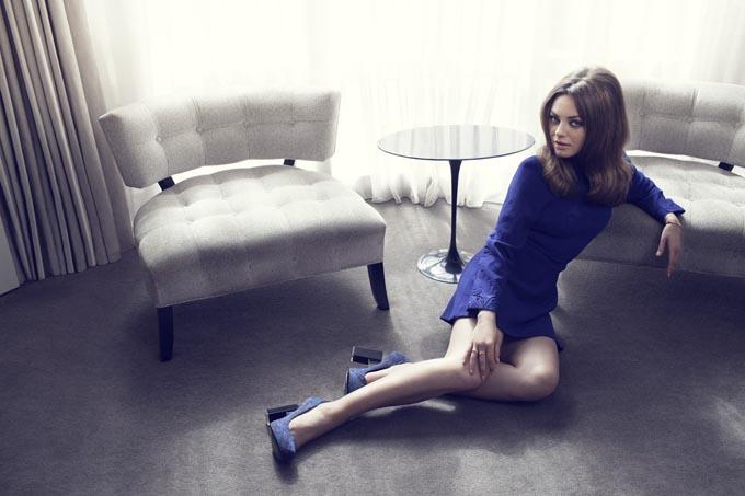 Мила Кунис в Elle UK