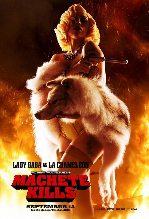 Характер-постеры фильма «Мачете убивает»