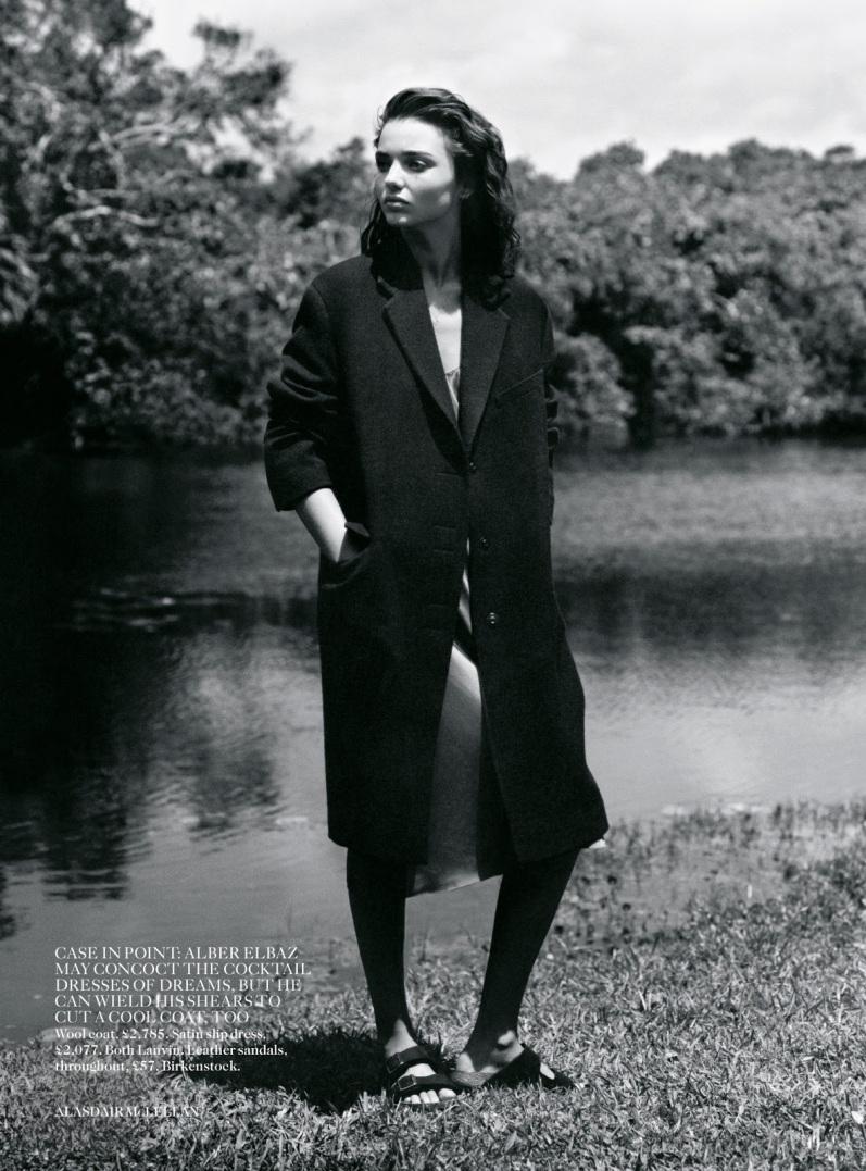 Миранда Керр в фотосессии для журнала VOGUE UK, сентябрь 2013
